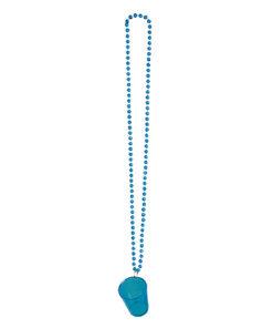 Halsketting Shotglaasje Blauw