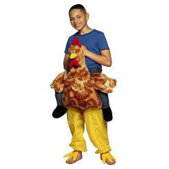 Carnaval kostuum kind - Lier - verkleedkledij kinderen - funny - dieren - kippenpak - gedragen door kip kostuum - tiener