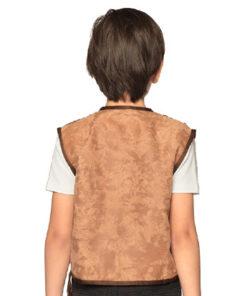 Lier - Verkleedkledij kinderen - verkleedkostuum - western - cowboy vest - koeprint - cowgirl - chaps - cowboyhoed - saloon