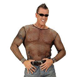 Visnet Shirt Man Zwart