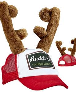 Lier - Kerstmis - themafeest - Merry Christmas - Kerstmuts - grappige muts - kerstfeest - rendier