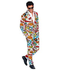 60's Kostuum Pop Art