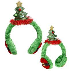 Oorwarmers Kerstboom