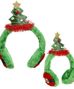 Lier - Kerstmis - themafeest - Merry Christmas - grappige muts - kerstfeest - oorwarmer - kerstboom - diadeem
