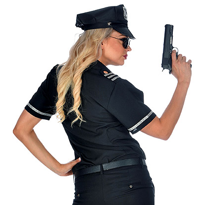 Politiehemdvrouw 2