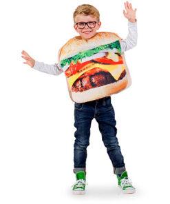 Carnaval kostuum kind - Lier - verkleedkledij kinderen - funny - Bicky burger - quick - Mc Donalds - Burger King - jump in pak