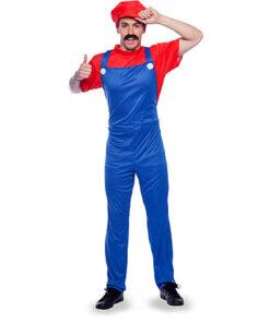 Carnaval kostuum volwassenen - Lier - beroep - verkleedkledij volwassenen - Super Mario - Nintendo - Luigi - game - gaming - superheld