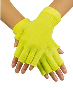Handschoenen Geel Vingerloos