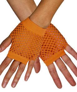 Handschoenen Visnet Kort Fluo Oranje
