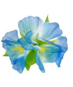 Haaraccessoire Hibiscus Blauw