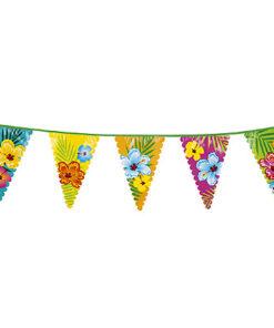 Lier - themafeest - hawai - strand - beach - bloemen - communiefeest - verjaardag - vlaggetjes - tuinfeest - feestversiering