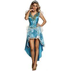 Prinses Blauw Vrouw