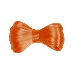 Haarstrik Neon Fluo Oranje