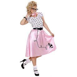 Rock & Roll Poodle Lady
