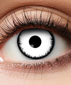 Lier - Carnaval - Halloween - contactlenzen - kleurlens - gekleurde lenzen - party lens - witte ogen - zombie - engel - angel