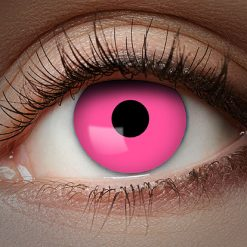1-Maand Kleurlenzen UV Flash Pink