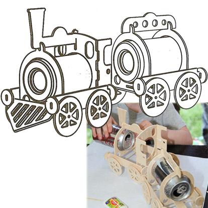Lier - workshop - verjaardag - geschenk - cadeau - zelf thuis maken - treinen - knutselen - schilderen - creatief met kinderen