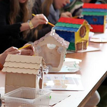 Lier - workshop - verjaardag - geschenk - cadeau - zelf thuis maken - vogels - knutselen - schilderen - creatief met kinderen
