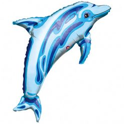 Ballonnen - Lier - feestversiering - Fun-Shop - helium - folie ballon - dolphin - zee - sea - beach - dieren - dolfijnen