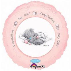 Ballonnen - Lier - feestversiering - Fun-Shop - helium - folie ballon - geboorte - meisje - baby - roze ballon - it's a girl