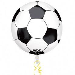 Folieballon Orbz Voetbal 38x40cm