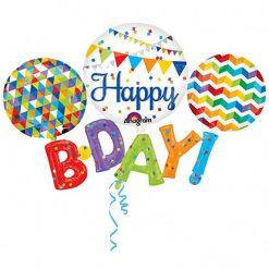 Ballonnen - Lier - feestversiering - Fun-Shop - helium - folie ballon - b-day - verjaardag - jarig - decoratie - letter ballon