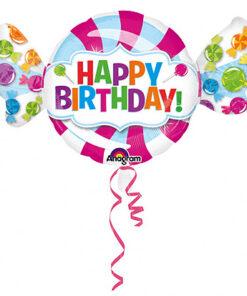 Ballonnen - Lier - feestversiering - Fun-Shop - helium - folie ballon - verjaardag - jarig - candy - happy birthday - lolly