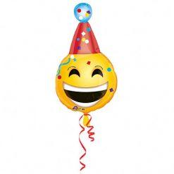 Ballonnen - Lier - feestversiering - Fun-Shop - helium - folie ballon - emoji - verjaardag - happy birthday - jarig