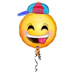 Ballonnen - Lier - feestversiering - Fun-Shop - helium - folie ballon - emoji - proficiat - feestgelegenheid - leuke ballon