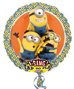 Ballonnen - Lier - feestversiering - Fun-Shop - helium - folie ballon - zingende ballon - verschrikkelijke ikke - despicable me