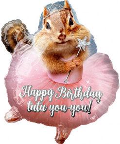 Ballonnen - Lier - feestversiering - Fun-Shop - helium - folie ballon - prinses - ballet - eekhoorn - jarig - verjaardag
