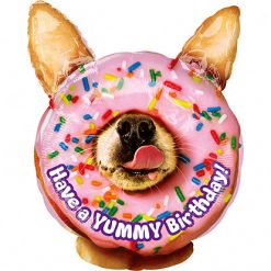 Ballonnen - Lier - feestversiering - Fun-Shop - helium - folie ballon - hond - donut - jarig - gelukkige verjaardag