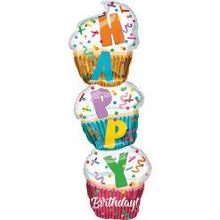 Folieballon Cupcake 33x104cm