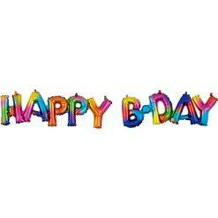 Ballonnen - Lier - feestversiering - decoratie - aankleding - themafeest - letters - jarig - verjaardag - happy birthday