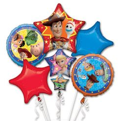 Folieballon Set 5 stuks Toy Story