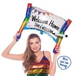 Ballonnen - Lier - feestversiering - Fun-Shop - welkom thuis - beschrijfbare ballon - proficiat - helium - folie ballon