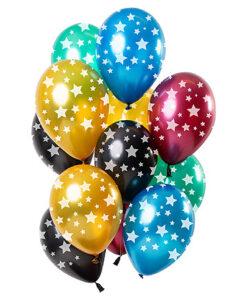 Ballonnen - Lier - feestversiering - latex ballon - Fun-Shop - helium - verjaardag - stars - gekleurde mix ballonnen
