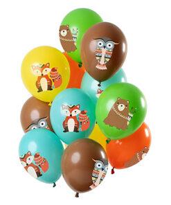 Ballonnen - Lier - feestversiering - helium - verjaardag - party - beer - uil - vos - kinderfeest - jungle - themafeest