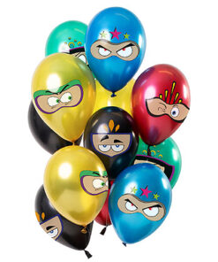 Ballonnen - Lier - feestversiering - latex ballon - Fun-Shop - helium - verjaardag - hero - avengers - spiderman - batman