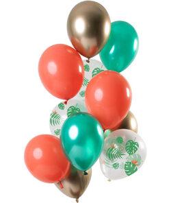 Ballonnen - Lier - feestversiering - latex ballon - Fun-Shop - helium - verjaardag - jungle - themafeest - tropisch - tuinfeest