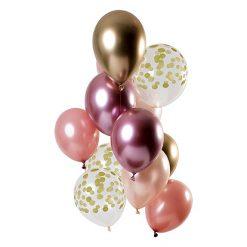 Ballonnen - Lier - feestversiering - Fun-Shop - helium - verjaardag - jubileum - huwelijk - gouden ballon - roségoud