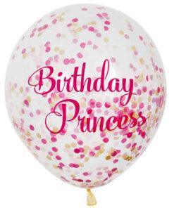Ballonnen - Lier - feestversiering - Fun-Shop - helium - latex ballon - verjaardag - prinses - confetti - transparante ballon