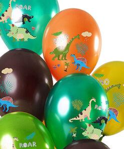 Ballonnen - Lier - feestversiering - Fun-Shop - helium - latex ballon - verjaardag - jarig - dinosaurus - bedrukte ballonnen