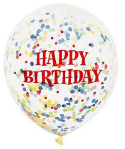 Ballonnen - Lier - feestversiering - Fun-Shop - helium - latex ballon - verjaardag - jarig - confetti - transparante ballon