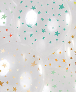 Ballonnen - Lier - feestversiering - latex ballon - Fun-Shop - helium - verjaardag - stars - transparante ballon - geboorte