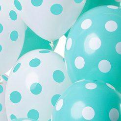 Ballonnenstippenmintgroen 1