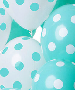 Ballonnen - Lier - feestversiering - latex ballon - Fun-Shop - helium - verjaardag - geboorte - dots - jongen - meisje - babyborrel