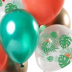 Ballonnen - Lier - feestversiering - latex ballon - Fun-Shop - helium - verjaardag - jungle - themafeest - tropisch - tuinfeest