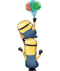 Ballonnen - Lier - feestversiering - helium - folie ballon - filmfiguur - verschrikkelijke ikke - minion - Despicable Me