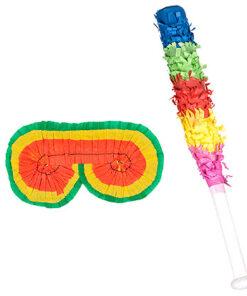 Lier - pinjata - mexico - geluksbrengen - papier maché - gevuld met snoep - cadeau - verjaardag - feest - kleurrijk figuur